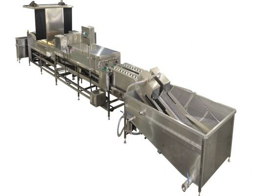 egg washing and packing machine