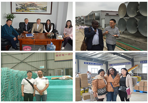 Each clients are satisfied with their tour in Livi Machinery. Therefore, we established good cooperation relationships with them.