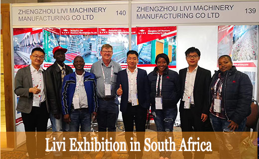 Livi machinery has set up their branches in South Africa.